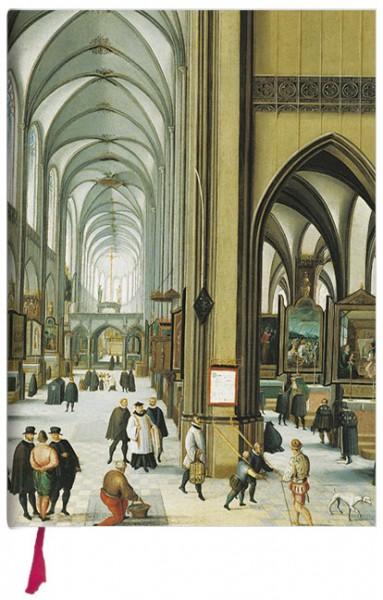 """Notizbuch """"Innenraum einer Kirche"""""""