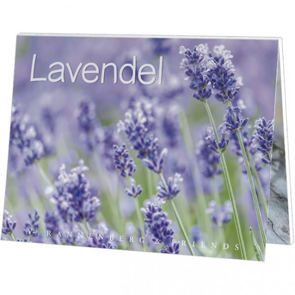 "Postkartenbuch ""Lavendel"""