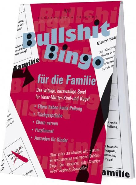 Spieleblöckchen 'Bullshit-Bingo Familie'