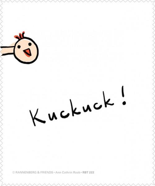 Brillenputztuch 'Kuckuck'