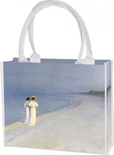Einkaufstasche 'Sommerabend am Strand'