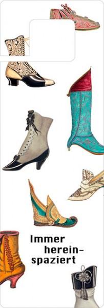 Türhänger 'Historische Schuhe'