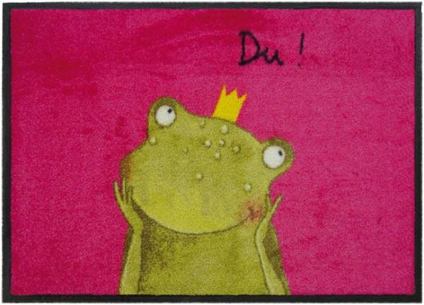 Fußmatte 'Du Frosch'