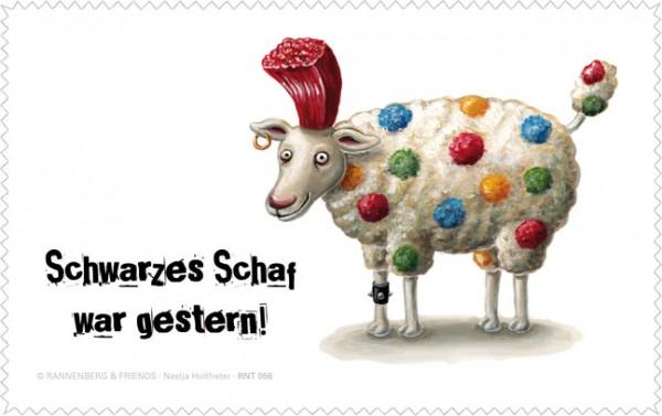 """Netbooktuch """"Schwarzes Schaf"""""""