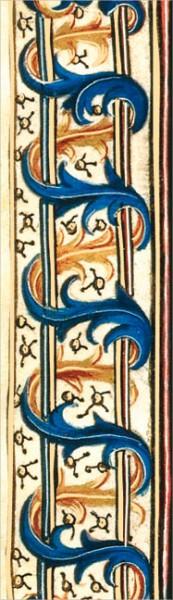 """Lesezeichen Gold """"David und Bathsheba, Detail"""""""