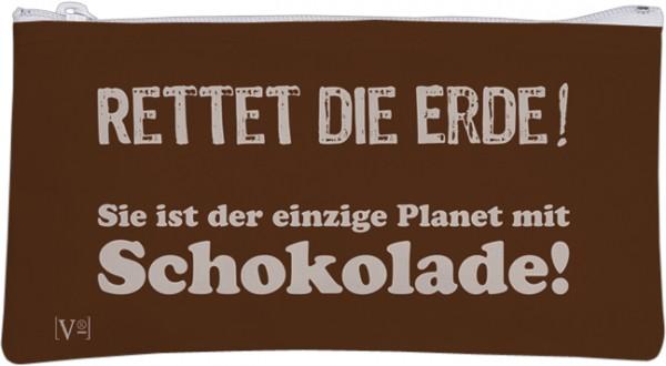 Etuitasche 'Rettet die Erde'