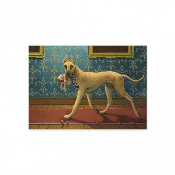 "Postkarte ""Doggs - Bunte Hunde / A Danish Noir"""