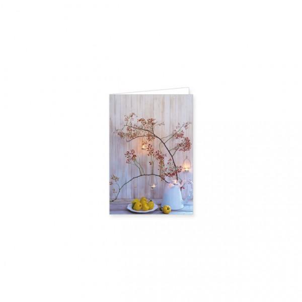 """Mini-Doppelkarte """"Lichterzweig"""""""