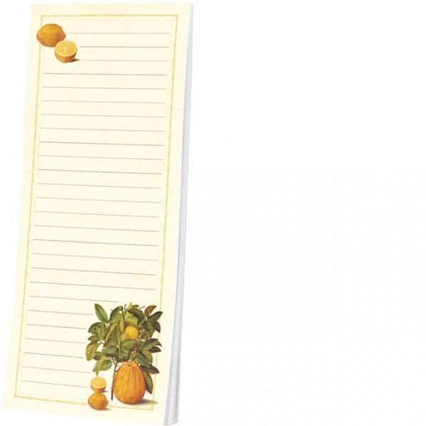 "Kühlschrankblöckchen ""Citrus limonum aus dem Gottorfer Codex"""