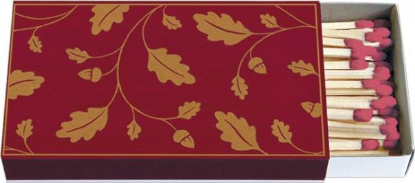 Zündholz-Schachteln 'Eichenblätter'