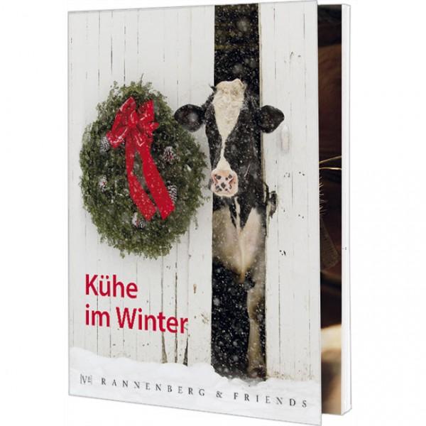 "Postkartenbuch ""Kühe im Winter"""