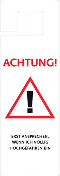 Türhänger 'Achtung'