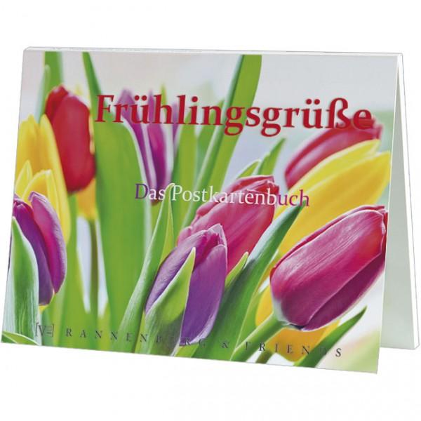 Postkartenbuch 'Frühlingsgrüße'