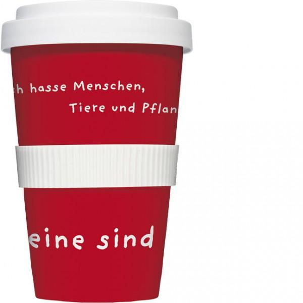 """Coffee to go """"Ich hasse Menschen"""""""