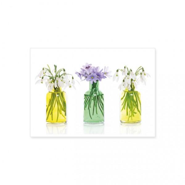 """Postkarte """"Frühlingsvasen"""""""