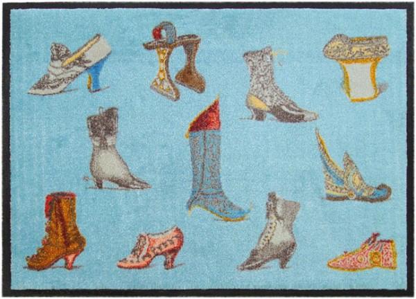 Fußmatte 'Historische Schuhe'
