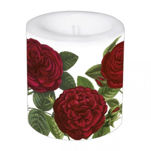 """Kleine Lampionkerze """"Rote Rosen"""