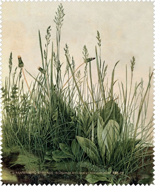 Brillenputztuch 'Das große Rasenstück'