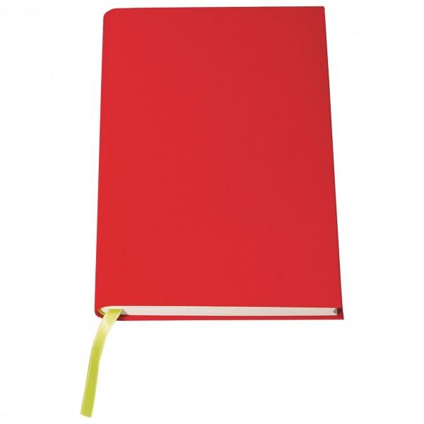 "Regenbogen-Notizbuch ""Rot"""