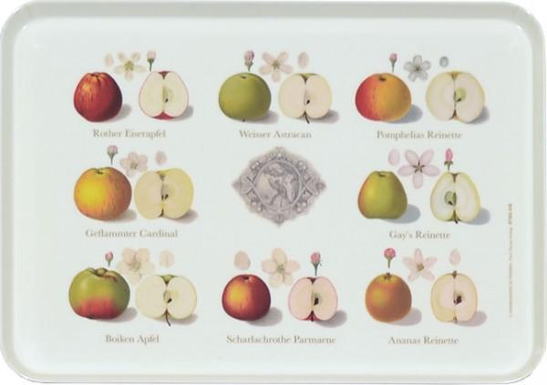 """Tablett small """"Pomologie der Äpfel"""""""