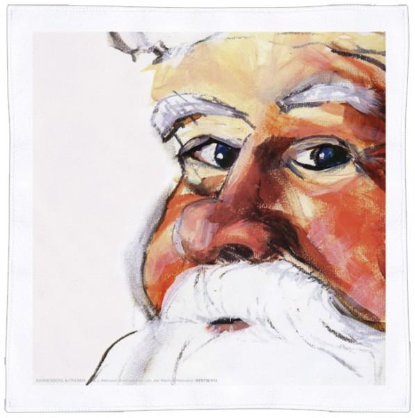 Spültuch Weihnachten 'Ich, der Weihnachtsmann'
