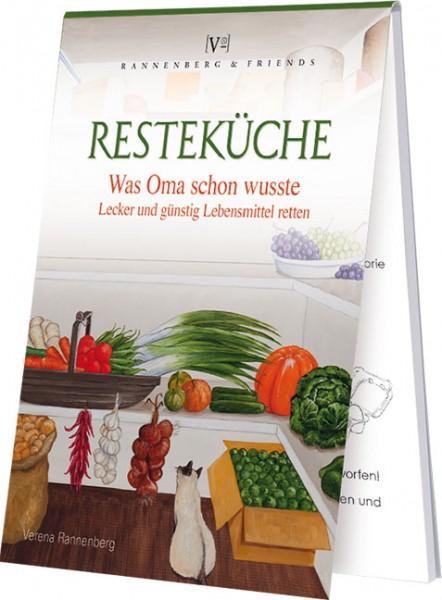 """Rezeptblöckchen """" Resteküche """""""