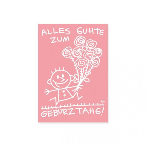 """Postkarte """"Geburtstag"""""""