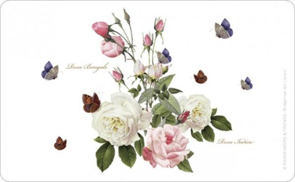 """Brettchen """"Rosa Bengale"""""""