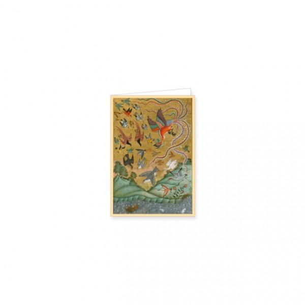 "Mini-Doppelkarten Gold ""Hussai Bin Ali Waiz Kashifi"""