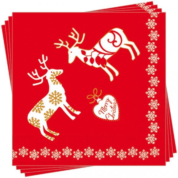 Servietten X-Mas 'Merry Christmas'