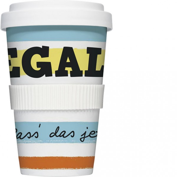 Coffee to go 'Egal'