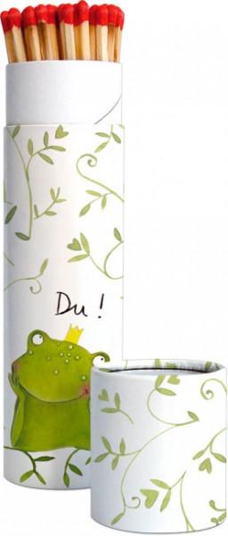 Zündholz-Dosen 'Du Frosch'