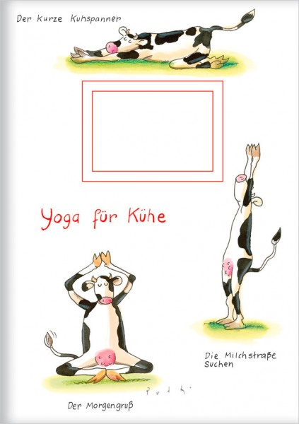 Kladden A5 'Yoga für Kühe'