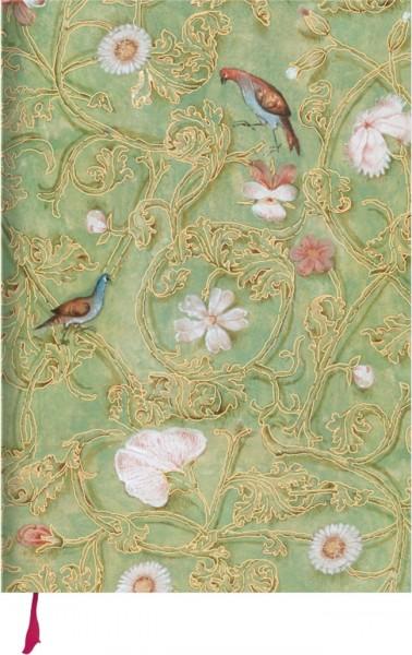"""Notizbuch Gold """"Breviar der Isabella von Kastilien (grün)"""""""