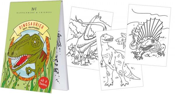 Malblöckchen 'Dinosaurier'