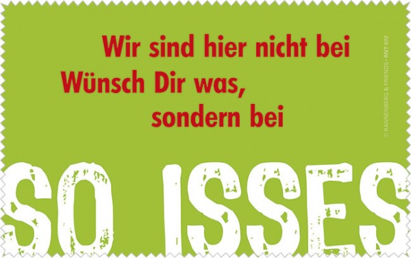 Netbooktuch 'So isses'