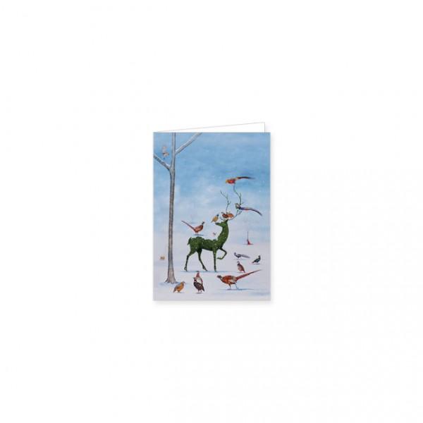 """Mini-Doppelkarte """"Winter Wunderland"""""""