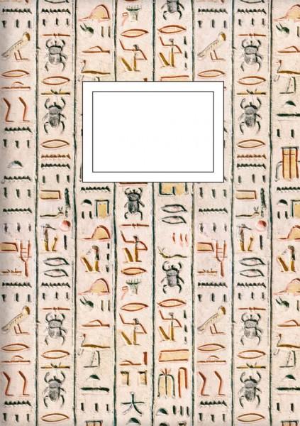 Kladden A5 'Hieroglyphen'