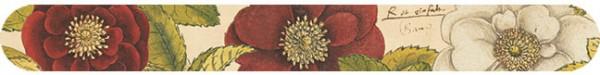 Nagelfeile 'Rosen aus Conrad Gesner Historia Plantarum'