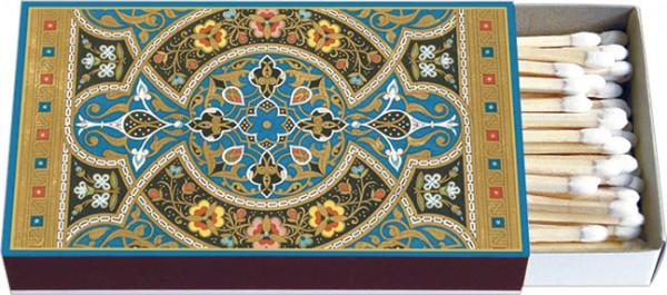 Zündholz-Schachteln 'Arabische Buchmalerei'