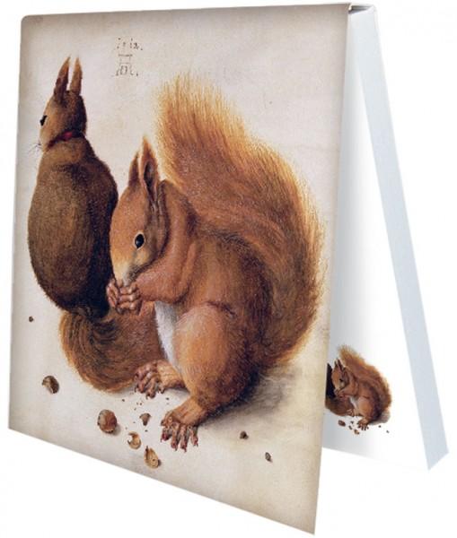 """Klebezettel """"Eichhörnchen"""""""