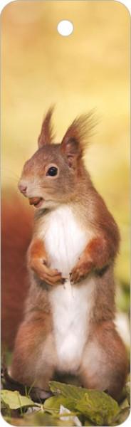 """Lesezeichen """"Rotes Eichhörnchen"""""""