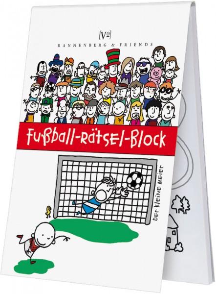 Spieleblöckchen 'Fußball-Rätsel-Block '