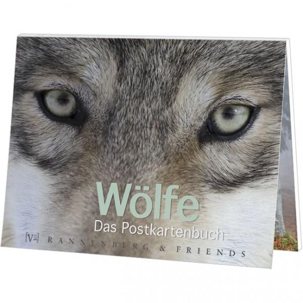 Postkartenbuch 'Wölfe'