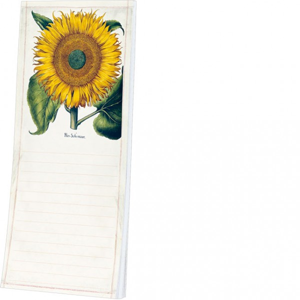 Kühlschrankblöckchen 'Sonnenblume aus dem Garten von Eichstätt'