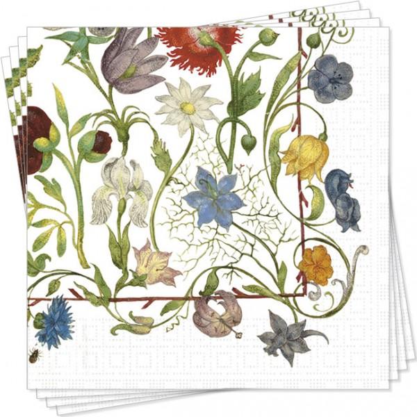 Servietten 'Gartenblumen'
