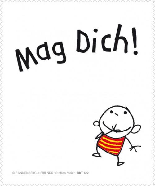 Brillenputztuch 'Mag Dich!'