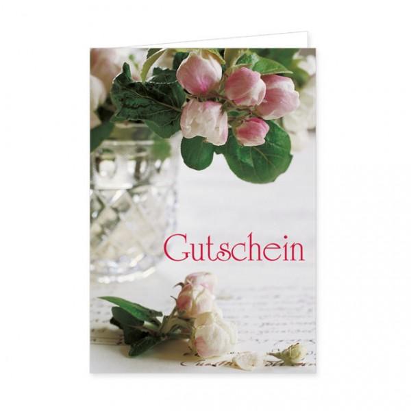 """Geschenk-Gutschein """"Apfelblüte"""""""