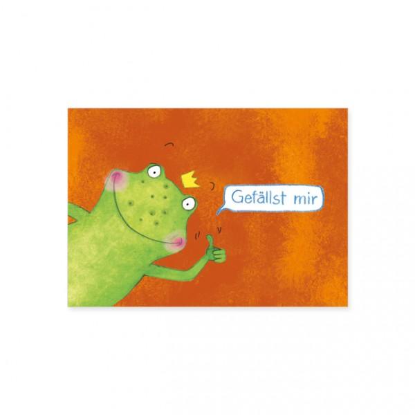 "Postkarte ""Gefällst mir"""