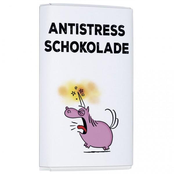 Schokoladentäfelchen 'Antistress Schokolade' von Alexander Holzach